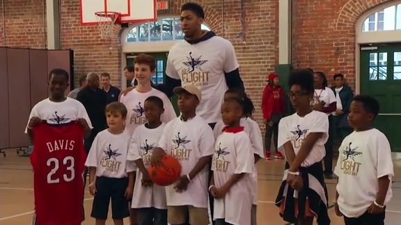 Anthony Davis: Community Assist Award Recap