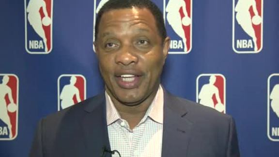 Head Coach Alvin Gentry talks about the 2016 NBA Lottery