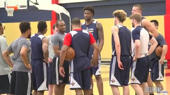 Pelicans Pre-Draft Workout 6-13-16