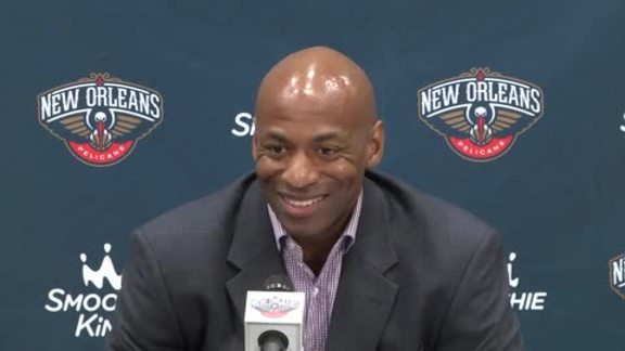 Dell Demps Pre-Draft Press Conference