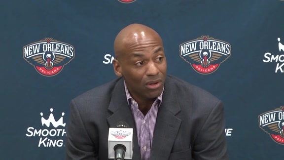 Dell Demps talks about adding Danny Ferry to the staff