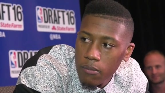 NBA Draft 2016: Kris Dunn talks about Anthony Davis