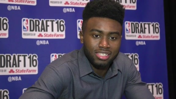 NBA Draft 2016: Jaylen Brown talks about Coach Gentry