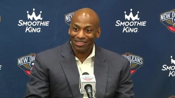 Dell Demps 2016 Draft Day Press Conference 6-23-16