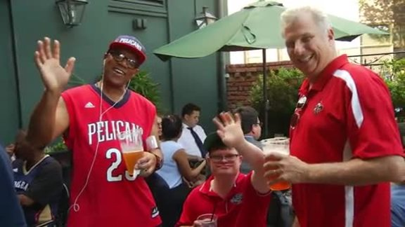 Pelicans Flock to 2016 Draft Party