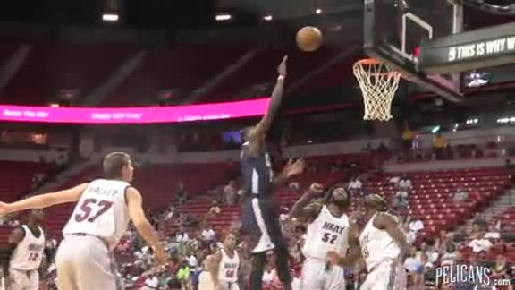 Pelicans vs Heat Summer League Highlights 7-13-16