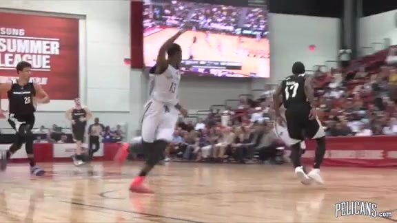Pelicans 2016 Summer League Highlights