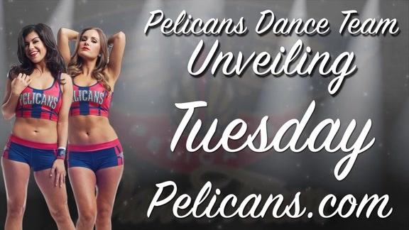 Inside Look: 2016 Pelicans Dance Team Auditions Round 1