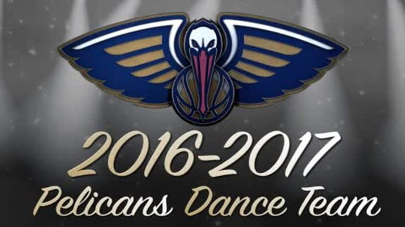 2016 Pelicans Dance Team Reveal
