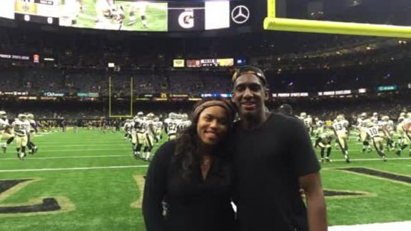 Pelicans guard Langston Galloway takes over Pelicans Snapchat at Saints game