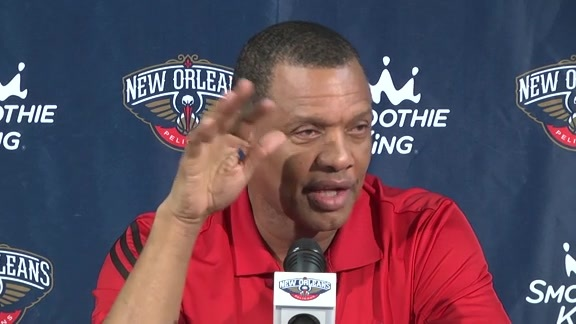 Media Day Availability 2016: Alvin Gentry