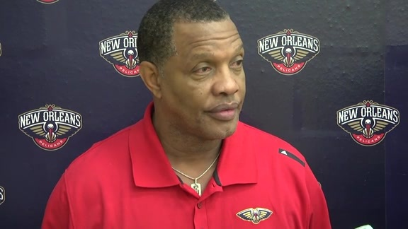 Pelicans Training Camp: Alvin Gentry 9-24-16