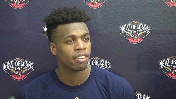 Pelicans Training Camp: Buddy Hield 9-24-16
