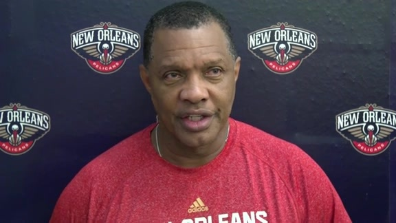 Pelicans Training Camp: Alvin Gentry 9-26-16