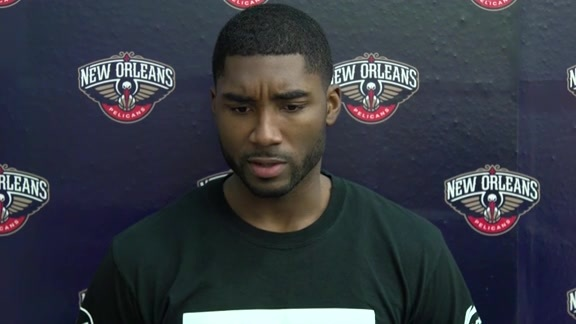 Pelicans Training Camp: E'Twaun Moore 9-26-16