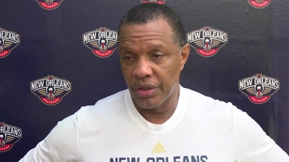 Pelicans Training Camp: Alvin Gentry 9-27-16