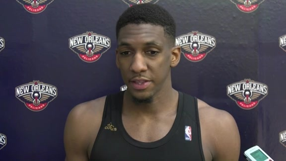 Pelicans Training Camp: Langston Galloway 9-27-16