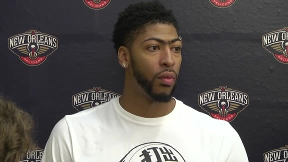 Pelicans Training Camp: Anthony Davis 9-28-16