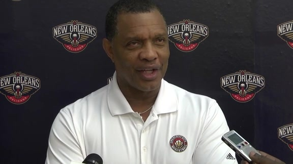 Pelicans Training Camp: Alvin Gentry 9-28-16