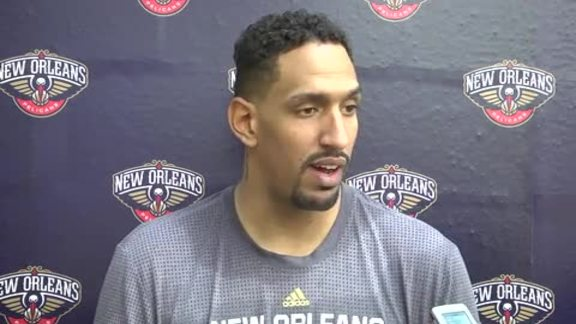 Pelicans Training Camp: Alexis Ajinca 9-30-16