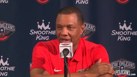 Pelicans Media Day 2017: Alvin Gentry Part 1