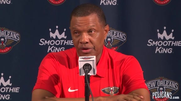 Pelicans Media Day 2017: Alvin Gentry Part 2