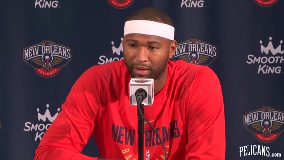 Pelicans Media Day 2017: Demarcus Cousins