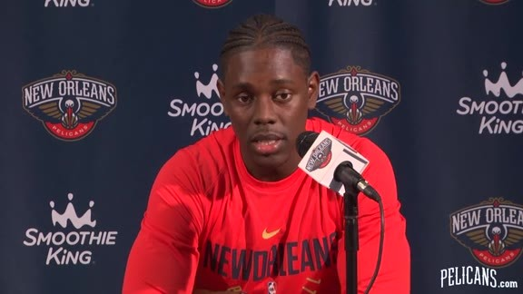 Pelicans Media Day 2017: Jrue Holiday