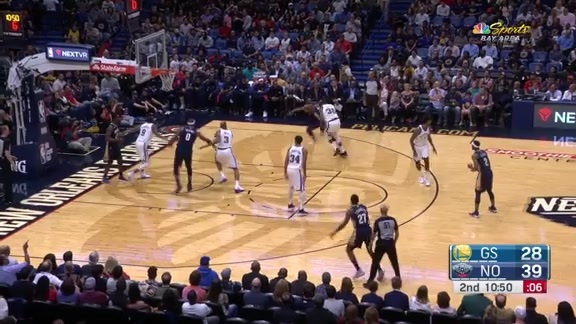 Miller dishes to Boogie for 2