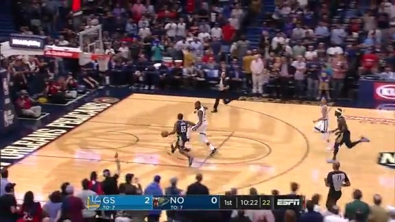 Jrue Holiday with a steal and finish on the other end