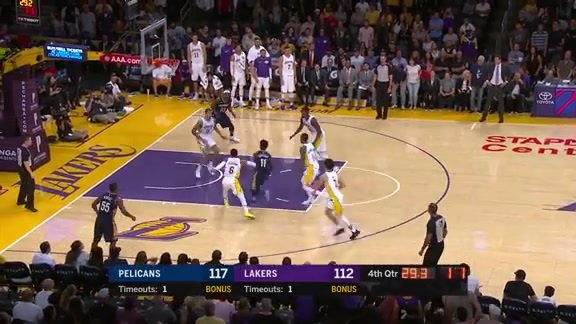 Game Highlights: Pelicans vs Lakers 10/22/17