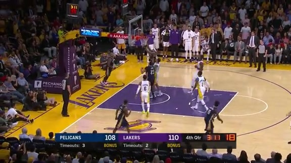 DeMarcus Cousins scores 22 vs Lakers