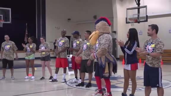 Pelicans Host Junior Training Camp For Military Families
