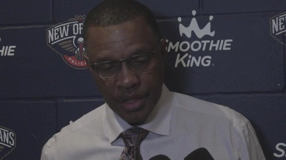 Pelicans vs. Raptors Postgame: Head Coach Alvin Gentry 11-15-17