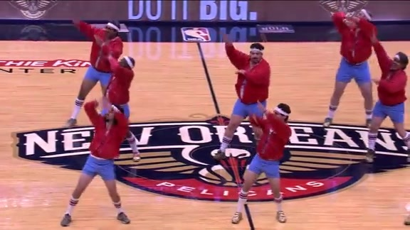 610 Stompers Perform Live at the Pelicans Game - 11/20/17