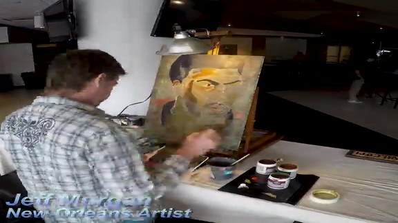 Anthony Davis Painting Timelapse