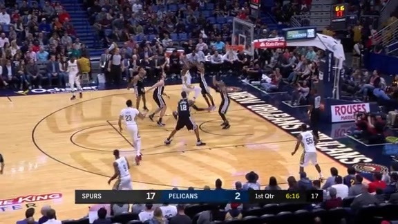 DeMarcus Cousins takes it strong to the rim