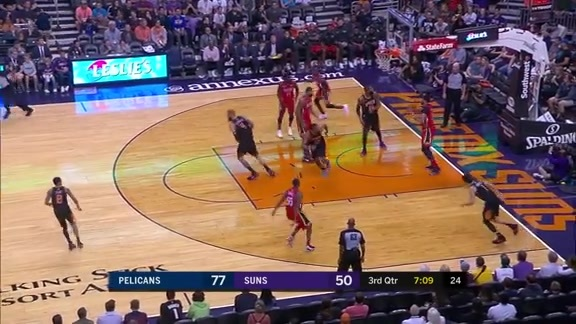 Anthony Davis scores 23 points vs Suns