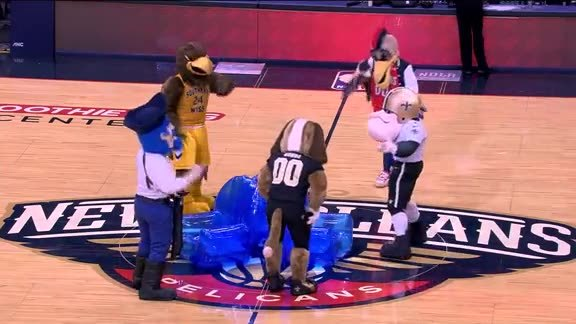 Pierre's Mascot Musical Chairs 11-29-17