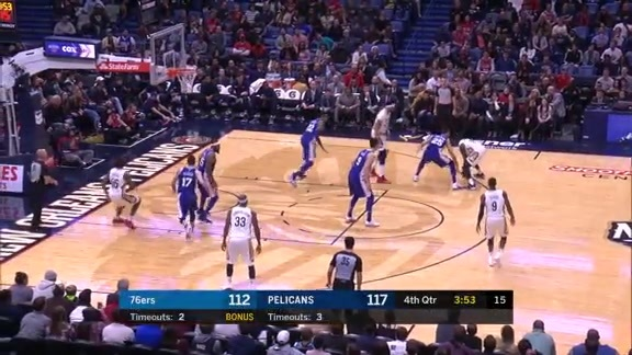 Jrue Holiday finishes with team high 34 points