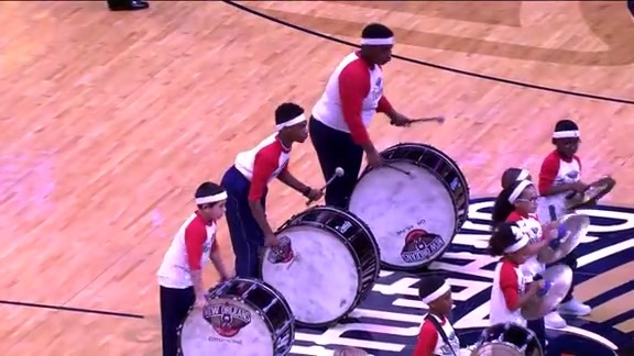 Pelicans Mini Drummers Performance - 12/6/17