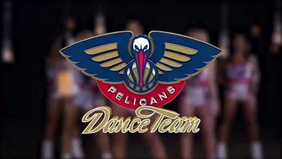 Pelicans Dance Team Performance 12-10-17