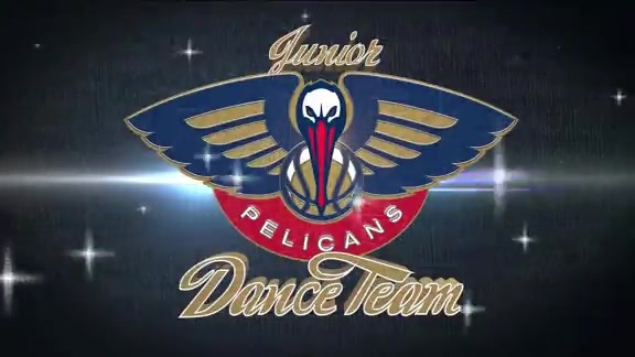Pelicans Jr. Dance Team First Half Performance 12-10-17