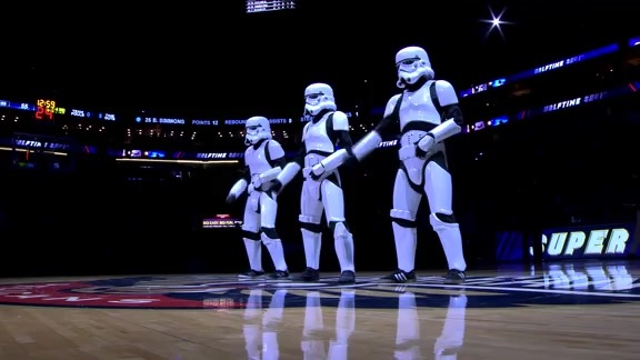 Haltime Performance: Storm Troopers