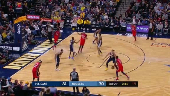 Jrue Holiday puts up 25 against Nuggets