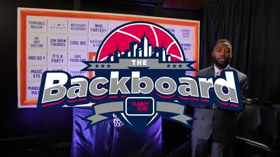 'The Backboard' with The Detroit Pistons hosted by Lamorne Morris