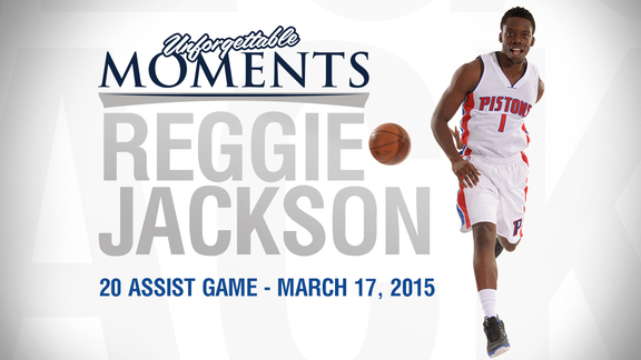 Unforgettable Moments: Reggie Jackson's 20 Assists