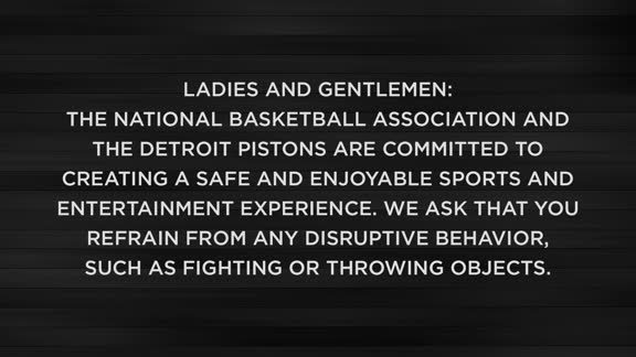 Pistons Code of Conduct