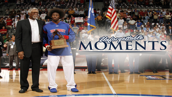 Unforgettable Moments: Ben Wallace's Defense