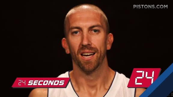 24 Seconds with Steve Blake